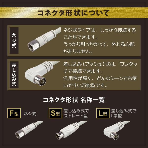 分波器 分波器 ケーブル付き  分波器4K8L対応 3.2GHz対応型 F型 地デジ BS CS (e4222)(メール便送料無料) ycm3|youplus-corp|07