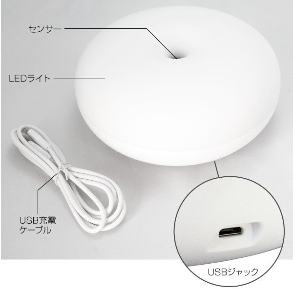 LED センサーライト 室内用 人感センサー ムードライト yct youplus-corp 03