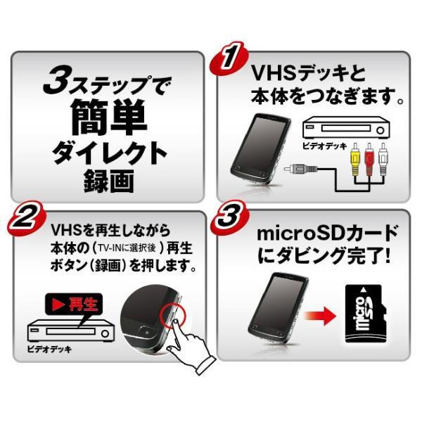 VHSレコーダー 録画 録音 かんたん VHSをマイクロSDへ ダイレクト録画 ZM-VHS2 (000000033874)
