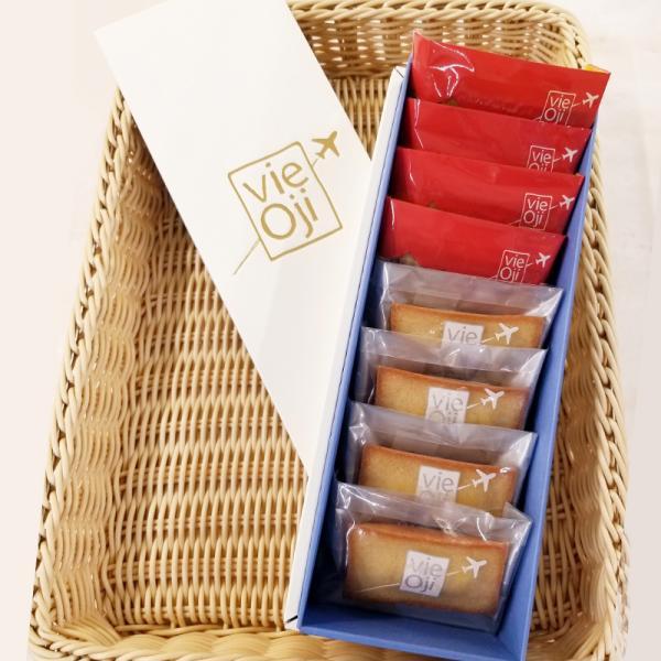 お取り寄せスイーツ ギフト 焼き菓子 vie Oji フィナンシェ 8個入×1箱(プレーン・和紅茶 日向夏 各4個入)ANA 飛行機