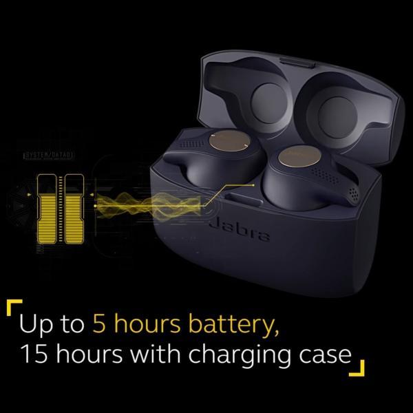 Jabra Elite Active 65t Bluetooth 5.0 ワイヤレス & セパレート Copper Blue 【並行輸入品】|yourmiraimall|03