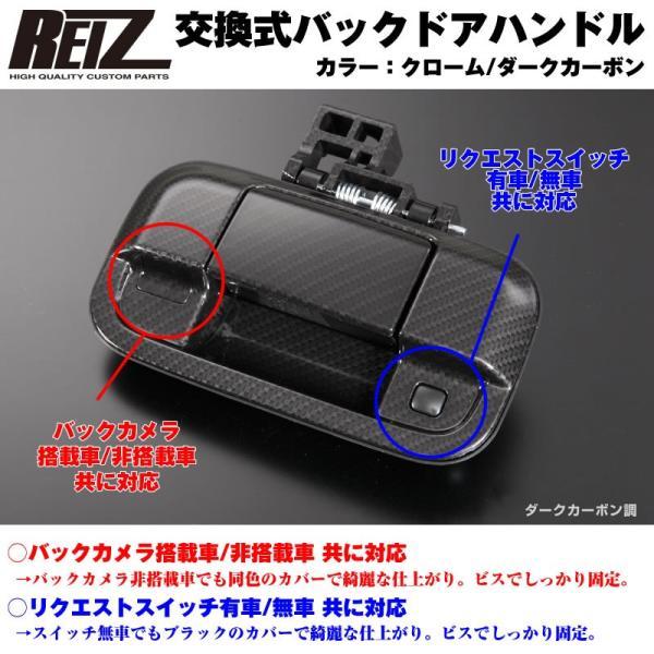 【カーボン】REIZ ライツ 交換式バックドアハンドル1P MRワゴン MF33S yourparts