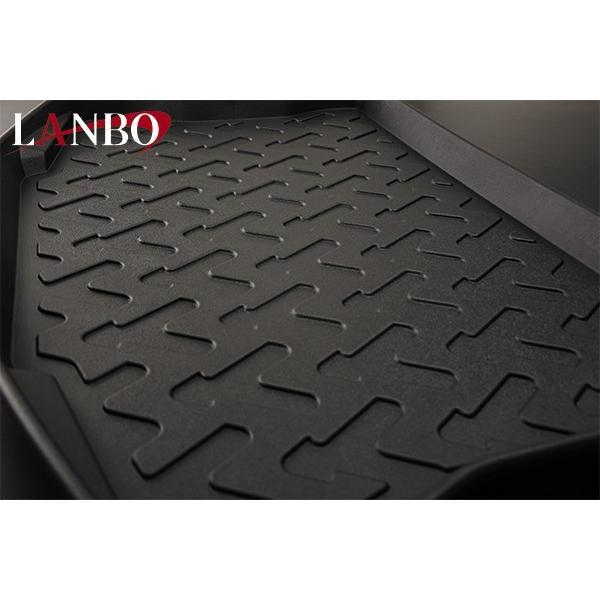【汚れ防止 アウトドア等にお勧め!】LANBO ランボ 3D ラゲッジマット AQUA (H23/12-) NHP10 yourparts 02