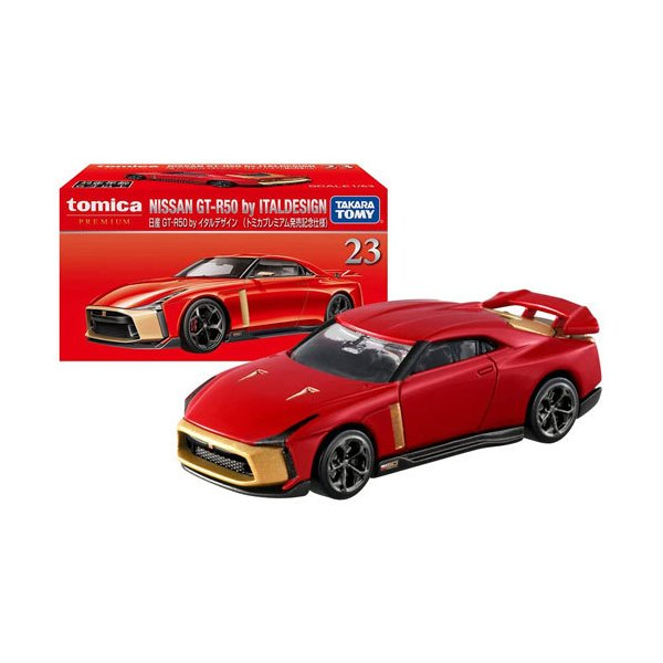 トミカプレミアム No.23 日産 GT-R50 by イタルデザイン トミカプレミアム発売記念仕様 4904810176015