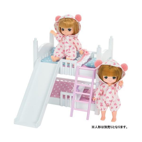 リカちゃん LF-10 ミキちゃんマキちゃん 2だんベッドりかちゃん リカちゃん人形 ハウス