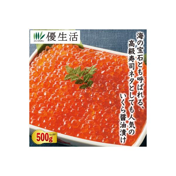 北海道産 いくら 醤油漬け 500g セット