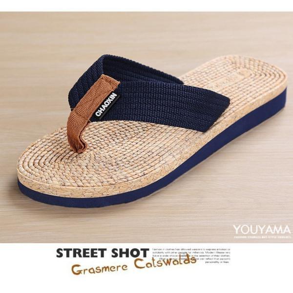 サンダル メンズ トングサンダル ビーチサンダル スリッパ 靴 シューズ 歩きやすい お洒落 軽量 ビーサン メンズシューズ アウトドア カジュアル 送料無料|youyamashopping|13