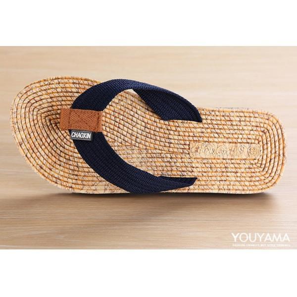 サンダル メンズ トングサンダル ビーチサンダル スリッパ 靴 シューズ 歩きやすい お洒落 軽量 ビーサン メンズシューズ アウトドア カジュアル 送料無料|youyamashopping|14