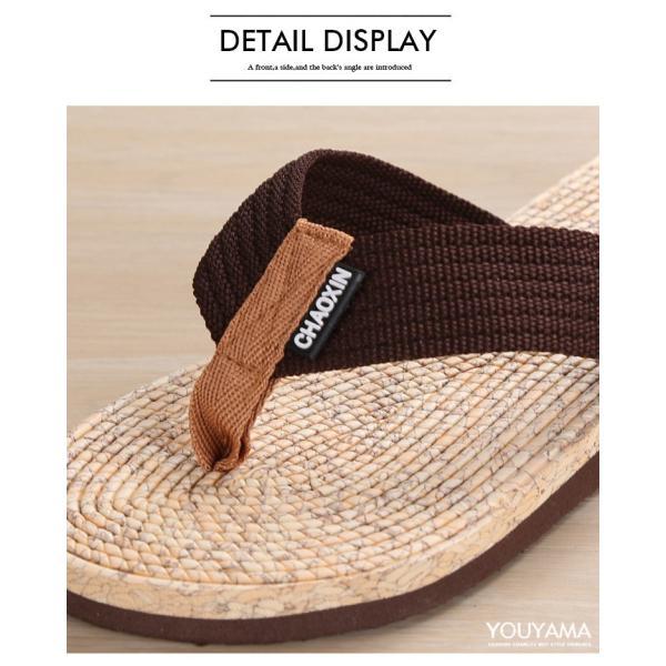 サンダル メンズ トングサンダル ビーチサンダル スリッパ 靴 シューズ 歩きやすい お洒落 軽量 ビーサン メンズシューズ アウトドア カジュアル 送料無料|youyamashopping|15