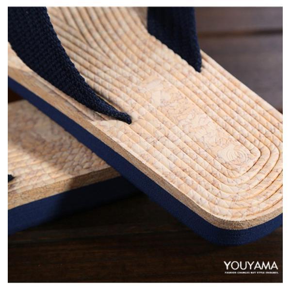 サンダル メンズ トングサンダル ビーチサンダル スリッパ 靴 シューズ 歩きやすい お洒落 軽量 ビーサン メンズシューズ アウトドア カジュアル 送料無料|youyamashopping|16