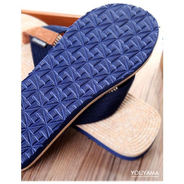 サンダル メンズ トングサンダル ビーチサンダル スリッパ 靴 シューズ 歩きやすい お洒落 軽量 ビーサン メンズシューズ アウトドア カジュアル 送料無料|youyamashopping|17