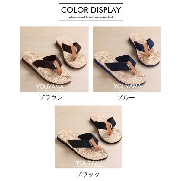 サンダル メンズ トングサンダル ビーチサンダル スリッパ 靴 シューズ 歩きやすい お洒落 軽量 ビーサン メンズシューズ アウトドア カジュアル 送料無料|youyamashopping|19