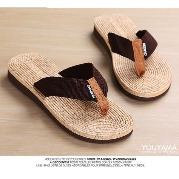 サンダル メンズ トングサンダル ビーチサンダル スリッパ 靴 シューズ 歩きやすい お洒落 軽量 ビーサン メンズシューズ アウトドア カジュアル 送料無料|youyamashopping|04
