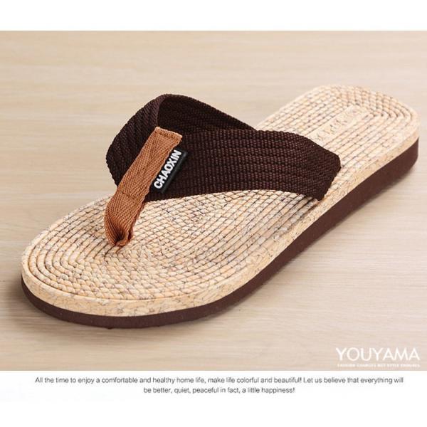 サンダル メンズ トングサンダル ビーチサンダル スリッパ 靴 シューズ 歩きやすい お洒落 軽量 ビーサン メンズシューズ アウトドア カジュアル 送料無料|youyamashopping|05