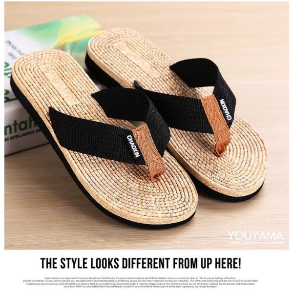 サンダル メンズ トングサンダル ビーチサンダル スリッパ 靴 シューズ 歩きやすい お洒落 軽量 ビーサン メンズシューズ アウトドア カジュアル 送料無料|youyamashopping|07