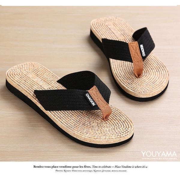 サンダル メンズ トングサンダル ビーチサンダル スリッパ 靴 シューズ 歩きやすい お洒落 軽量 ビーサン メンズシューズ アウトドア カジュアル 送料無料|youyamashopping|08