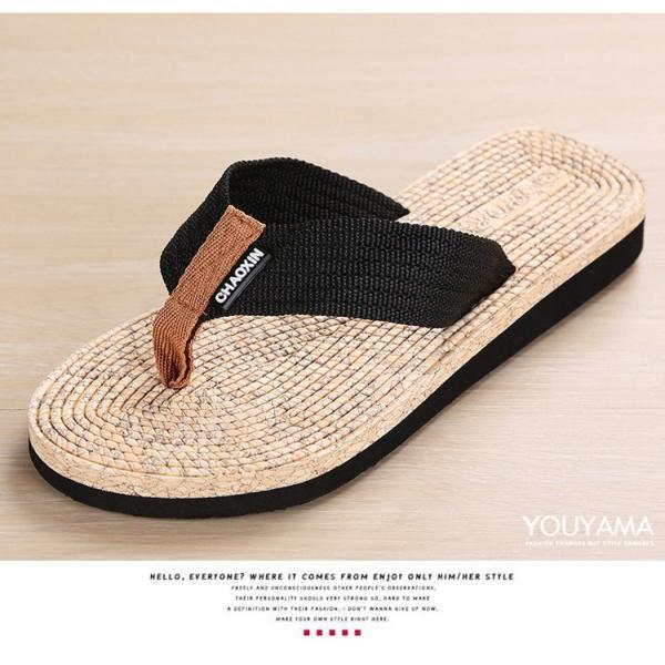 サンダル メンズ トングサンダル ビーチサンダル スリッパ 靴 シューズ 歩きやすい お洒落 軽量 ビーサン メンズシューズ アウトドア カジュアル 送料無料|youyamashopping|09