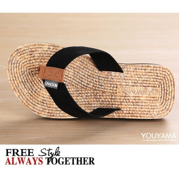 サンダル メンズ トングサンダル ビーチサンダル スリッパ 靴 シューズ 歩きやすい お洒落 軽量 ビーサン メンズシューズ アウトドア カジュアル 送料無料|youyamashopping|10