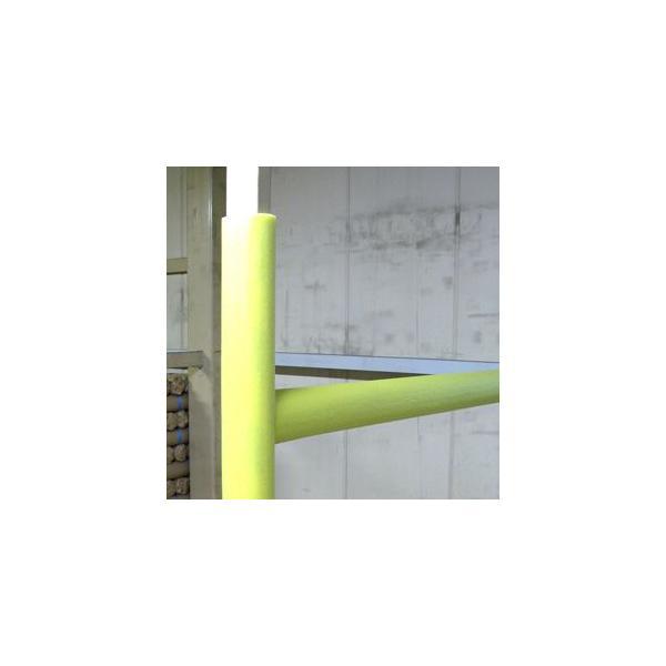 ワニ印 単管カバー 内径φ49x1.7m レモン<50本>《送料無料・現場の定番商品》54.000円以上ご購入で3%値引き|youzyou|06