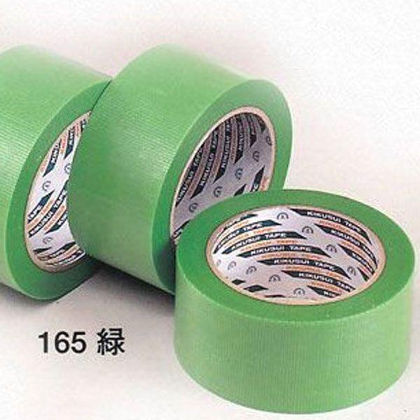 キクスイ 養生テープ(♯165)【緑】38mm巾x25m巻 36巻入(1ケース)