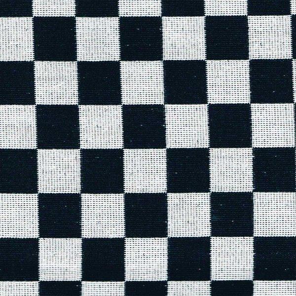 がま口ポシェット(市松柄)日本製 綿100% ジャカード織 伝統 米沢織 米織 小紋柄 和柄 和装 お着物 旅行 斜め掛け 格子 モダン|yozando-y|02