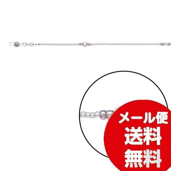 眼鏡チェーン 眼鏡ストラップ グラスコード メガネチェーン CX-178 クリア Z5966