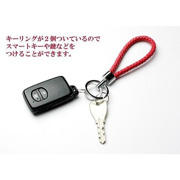 キーリング スマートキー 鍵 AWESOME(オーサム) クロスキーリング ホワイト ASKEY-MS06