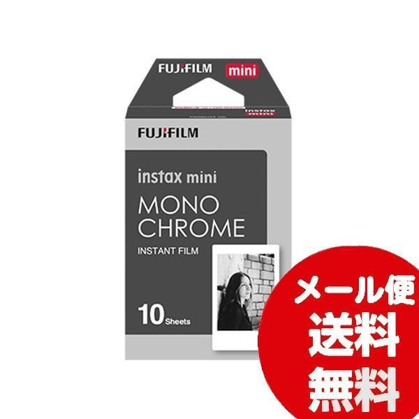 チェキ用フィルム FUJIFILM instax mini チェキ用フィルム 絵柄入りフレームタイプ モノクローム 10枚入
