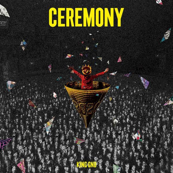 King Gnu CEREMONY アルバム 初回生産限定盤 (CD+Blu-ray) キングヌー  送料無料 新品 ys-online