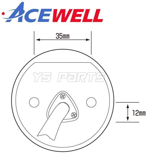 【正規品】ACEWELL完全防水マルチメーター52mm径[デジタルタコメーター]WR250R/WR250F/セロー225/セロー250/XJR400/XJR1200/XJR1300等|ys-parts-jp|14
