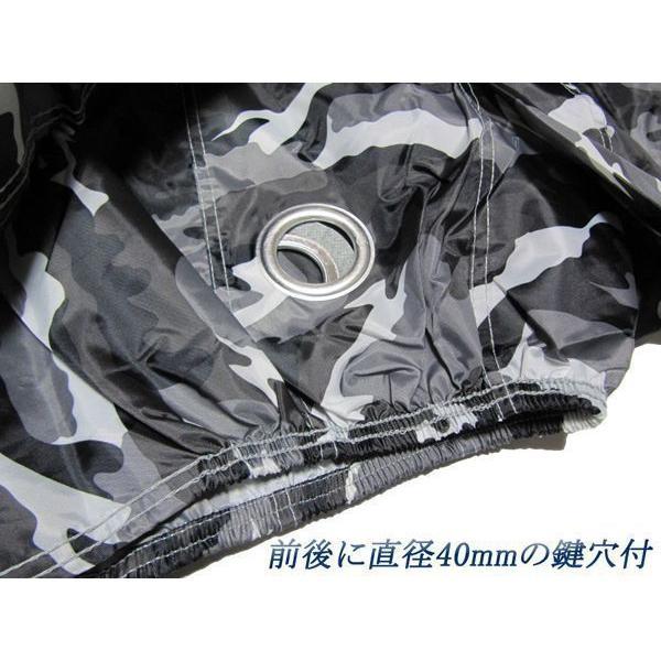 【高級オックス】ワンタッチベルト付迷彩バイクカバー3L インパルス400イナズマ400サベージ400バンディット250バンディット400GSX-R400GSX-R750GSX400Sカタナ ys-parts-jp 02