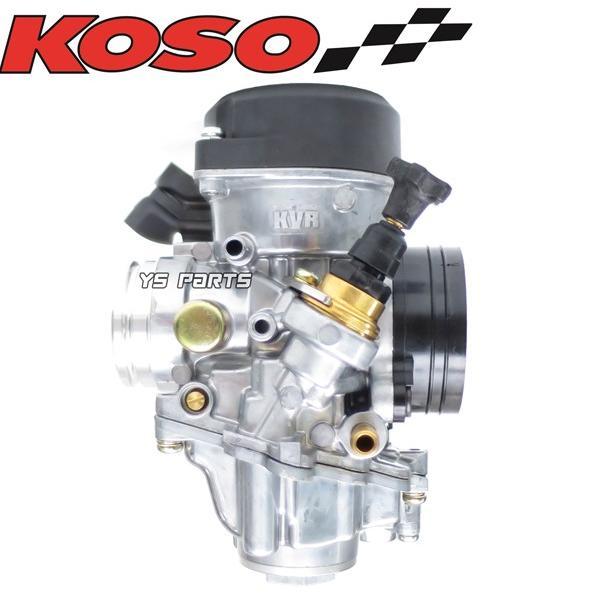 【FCRと同じ加速ポンプ付】KOSO 30mmビッグキャブ シグナスXキャブ車等に[段数調整式ニードル/軽量ダイヤフラム採用]|ys-parts-jp|14