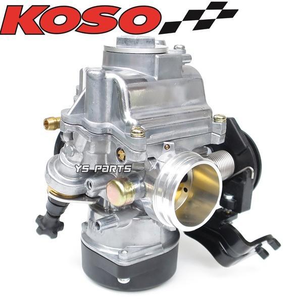 【FCRと同じ加速ポンプ付】KOSO 30mmビッグキャブ シグナスXキャブ車等に[段数調整式ニードル/軽量ダイヤフラム採用]|ys-parts-jp|17