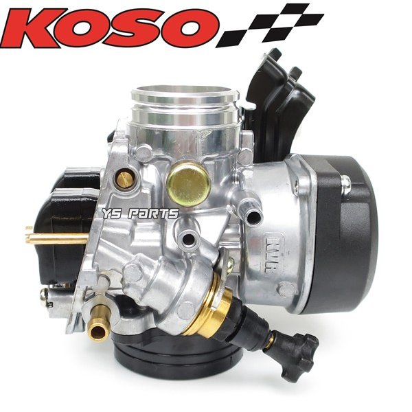 【FCRと同じ加速ポンプ付】KOSO 30mmビッグキャブ シグナスXキャブ車等に[段数調整式ニードル/軽量ダイヤフラム採用]|ys-parts-jp|09