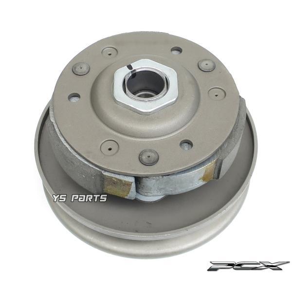 [高品質]セカンダリークラッチ一式ASSY PCX125[JF28/JF56]PCX150[KF12/KF18]【3枚クラッチ+センタースプリング+トルクカム+トルクカムピン組込済】|ys-parts-jp|03