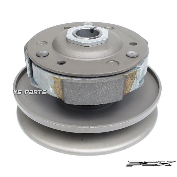 [高品質]セカンダリークラッチ一式ASSY PCX125[JF28/JF56]PCX150[KF12/KF18]【3枚クラッチ+センタースプリング+トルクカム+トルクカムピン組込済】|ys-parts-jp|05