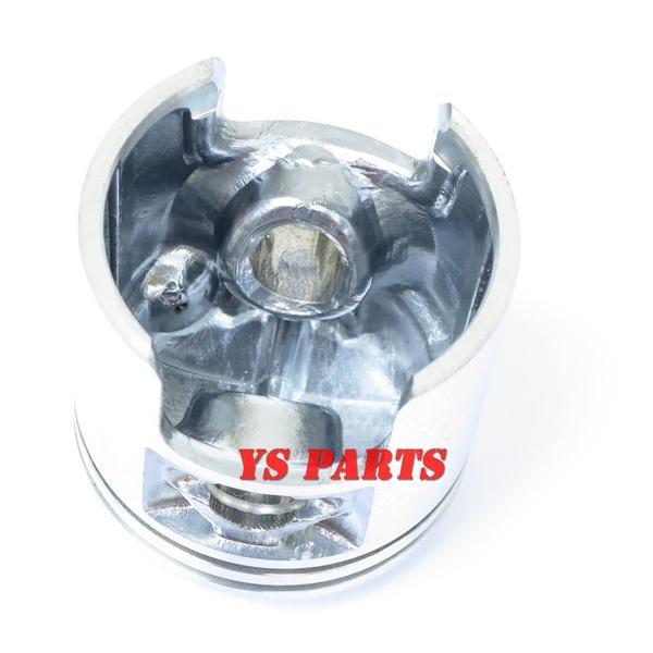 高品質45mmボアアップピストン ジーツー/ZZ/CA1PB/ヴェルデ/CA1MA/CA1MB/2サイクルアドレス50/UG50【ピストンリング+ピストンピン+サークリップ付】|ys-parts-jp|02
