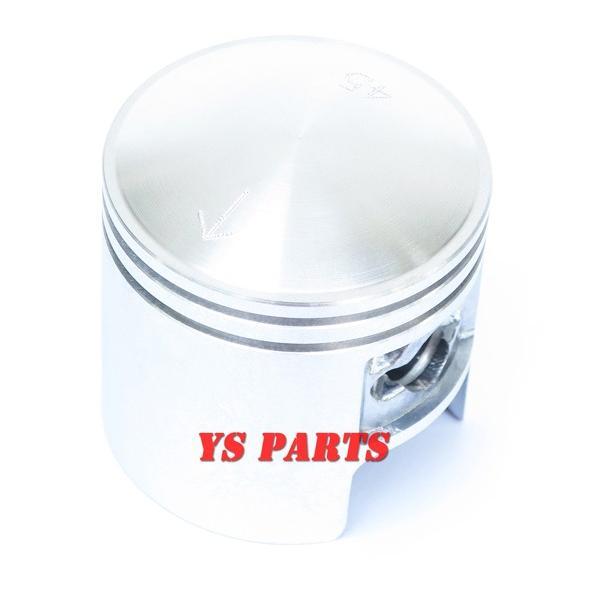高品質45mmボアアップピストン ジーツー/ZZ/CA1PB/ヴェルデ/CA1MA/CA1MB/2サイクルアドレス50/UG50【ピストンリング+ピストンピン+サークリップ付】|ys-parts-jp|03