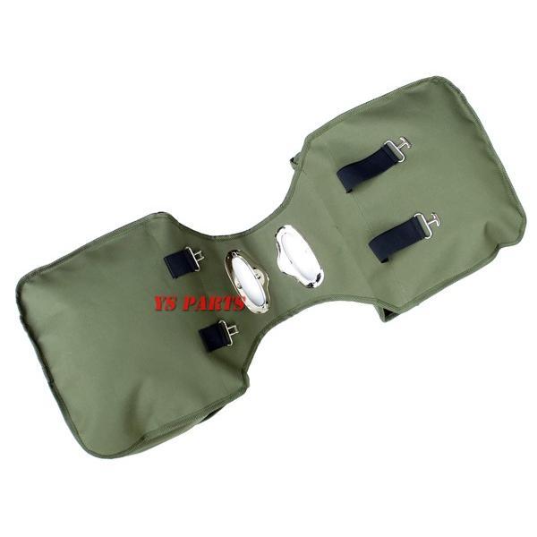【大容量20L】US ARMYサイドバッグ/サドルバッグ/アーミーバッグ スーパーカブ50/スーパーカブ90/スーパーカブ110/リトルカブ等に|ys-parts-jp|06
