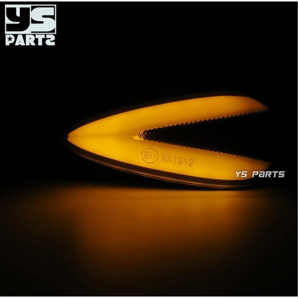 【車検対応Eマーク取得】汎用ポジション付LEDウインカー2個SET[スモークレンズ]XTZ125/YZF-R12/YZF-R25/YZF-R3/XT250X/WR250X/WR250R/MT-07/MT-09等|ys-parts-jp|02
