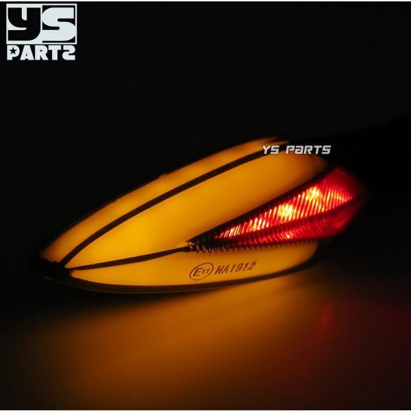 【車検対応Eマーク取得】汎用ポジション付LEDウインカー2個SET[スモークレンズ]XTZ125/YZF-R12/YZF-R25/YZF-R3/XT250X/WR250X/WR250R/MT-07/MT-09等|ys-parts-jp|04