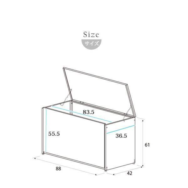 屋外用ゴミ箱 大容量 屋外ごみ箱 ゴミステーション ベランダ用ゴミ箱 大型ゴミ箱 大きい カラスよけ 屋外ゴミ箱|ys-prism|14