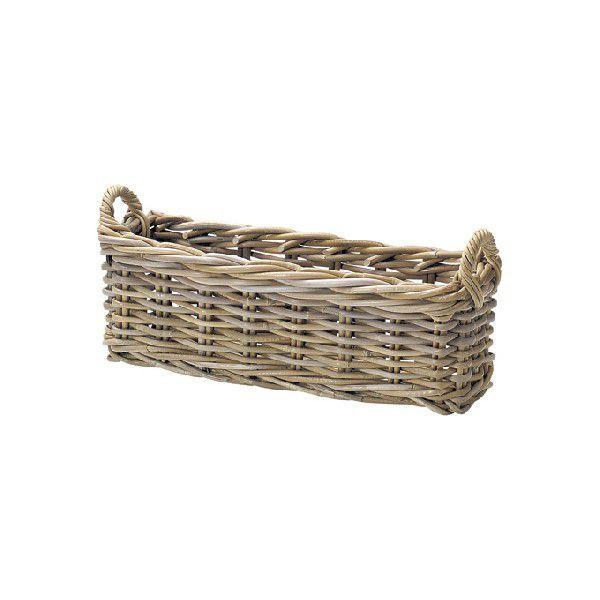 かご カゴ 籠 バスケット 店舗什器 小物入れ 小物収納 スリッパ入れ スリッパ立て スリッパラック おしゃれ ナチュラル シンプル かわいい 可愛い コボ 木製