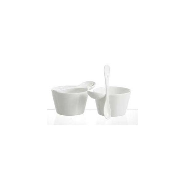 DULTON ダルトン モーニングスープカップセット スープカップセット スープ皿 ミニカップ 白 アンティーク調 おしゃれ キッチン 台所 食事会 パーティ