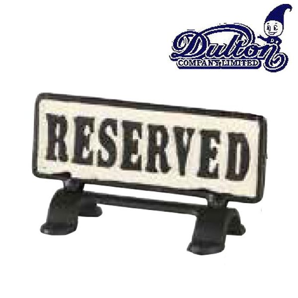 DULTON ダルトン『リバーシブルサインスタンド リザーブ』 案内板/表示板/テーブルサイン/看板/サインプレート/サインボード/業務看板 ys-prism