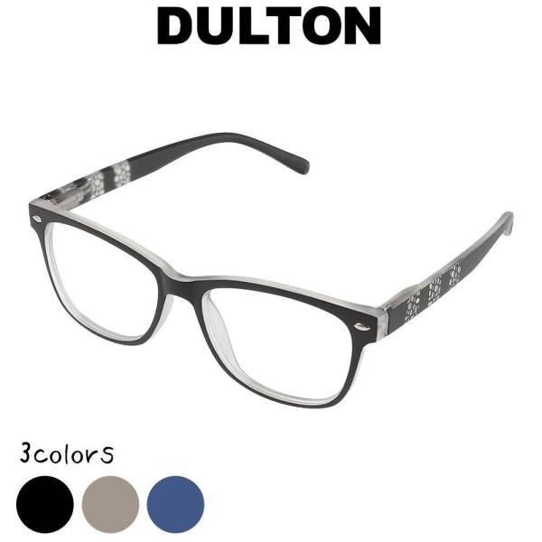 リーディンググラス ダルトン DULTON 老眼鏡 シニアグラス ファッション 眼鏡 縁あり フチあり 度入り 度付き フレーム ノーマル型 お洒落