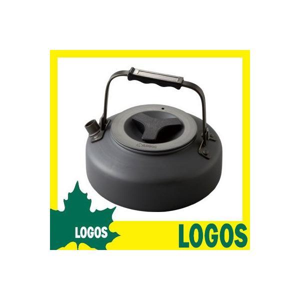 ケトル ロゴス LOGOS ザ・ケトル やかん ヤカン 750ml 携帯 アルミ フラット 沸騰しやすい 傷つきにくい 耐久性の高い 持ち運び 収納 ys-prism