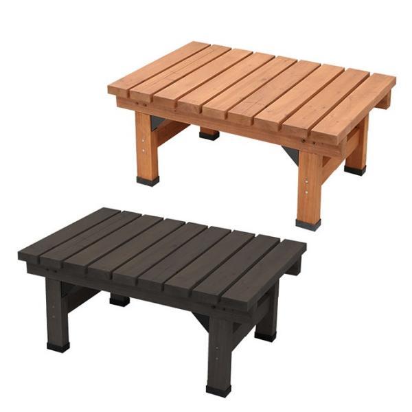 デッキ縁台58×90 縁台 ウッドデッキ デッキ縁台 縁側 ガーデンベンチ 踏み台 腰掛け ステップ 長椅子 木製 屋外 室内 おしゃれ 送料無料