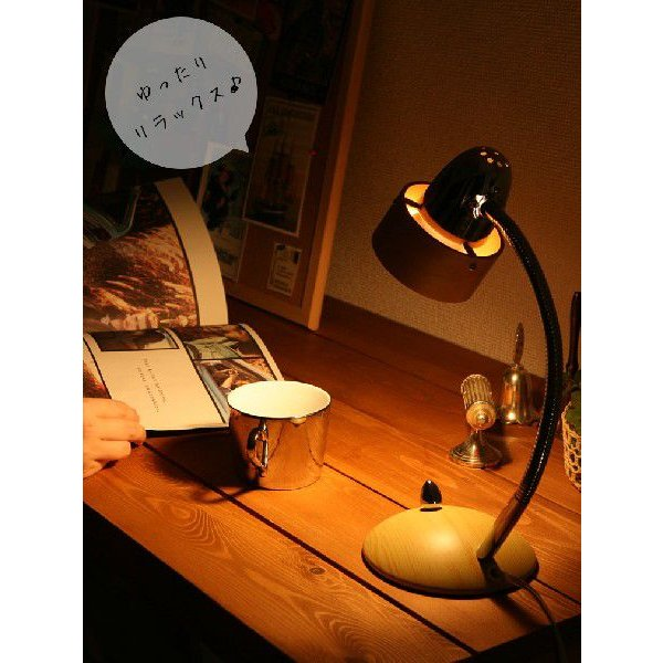 照明 コロポックル デスクライト デスクランプ 卓上 間接照明 LED 50W スチール 天然木 電気スタンド 読書灯 おしゃれ 寝室 書斎 北欧 無段階調光 調色機能|ys-prism|04
