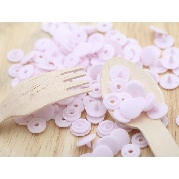 プラスナップ スナップボタン 艶あり ピンク 10mm 約30組 ハンドプレス 問屋 洋裁材料 手作り小物 雑貨 約1cm アクセサリーパーツ パーツ